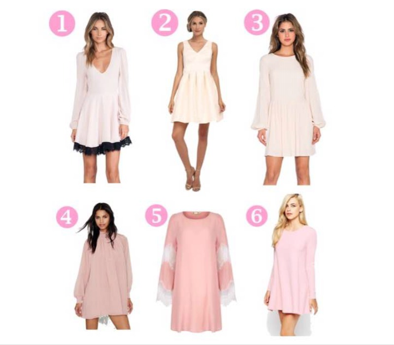Alternative Blush Dress Options