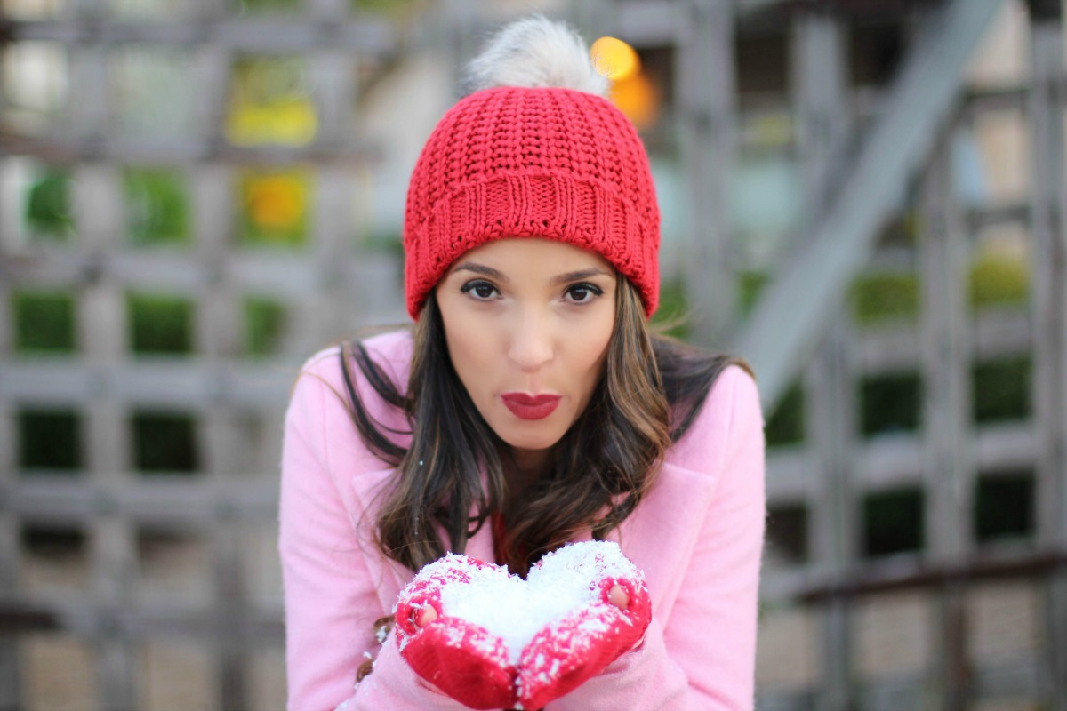 Casual Red and Pink Valentine's Day Outfit