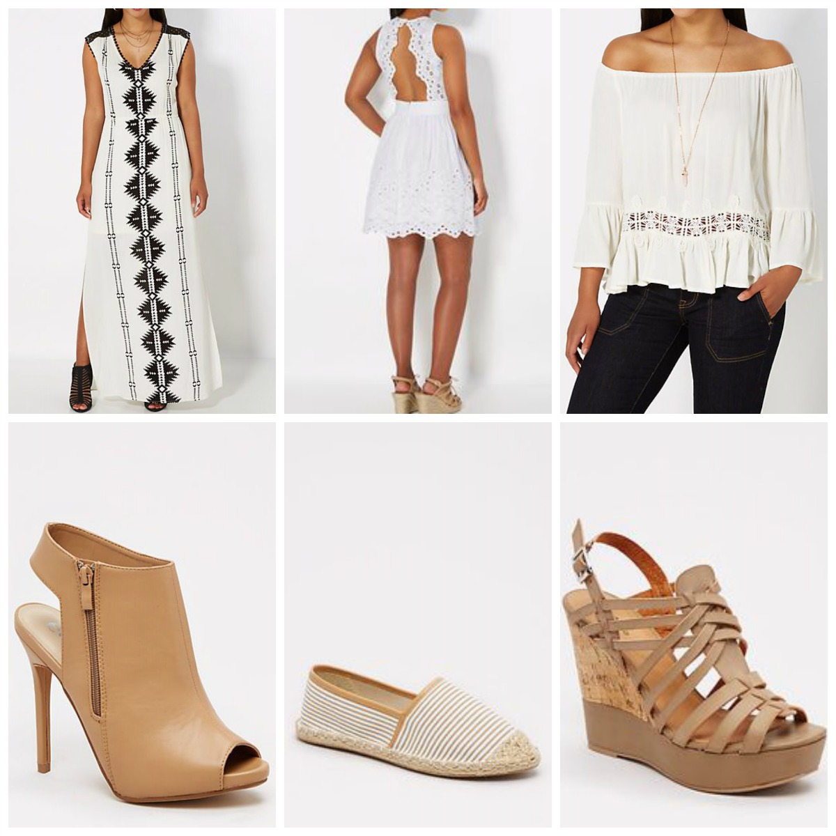 67c4cb5a3b ... I also found some other Spring   Summer trends that are both adorable  and affordable as well. These are all also from Rue21 and under  30 too!