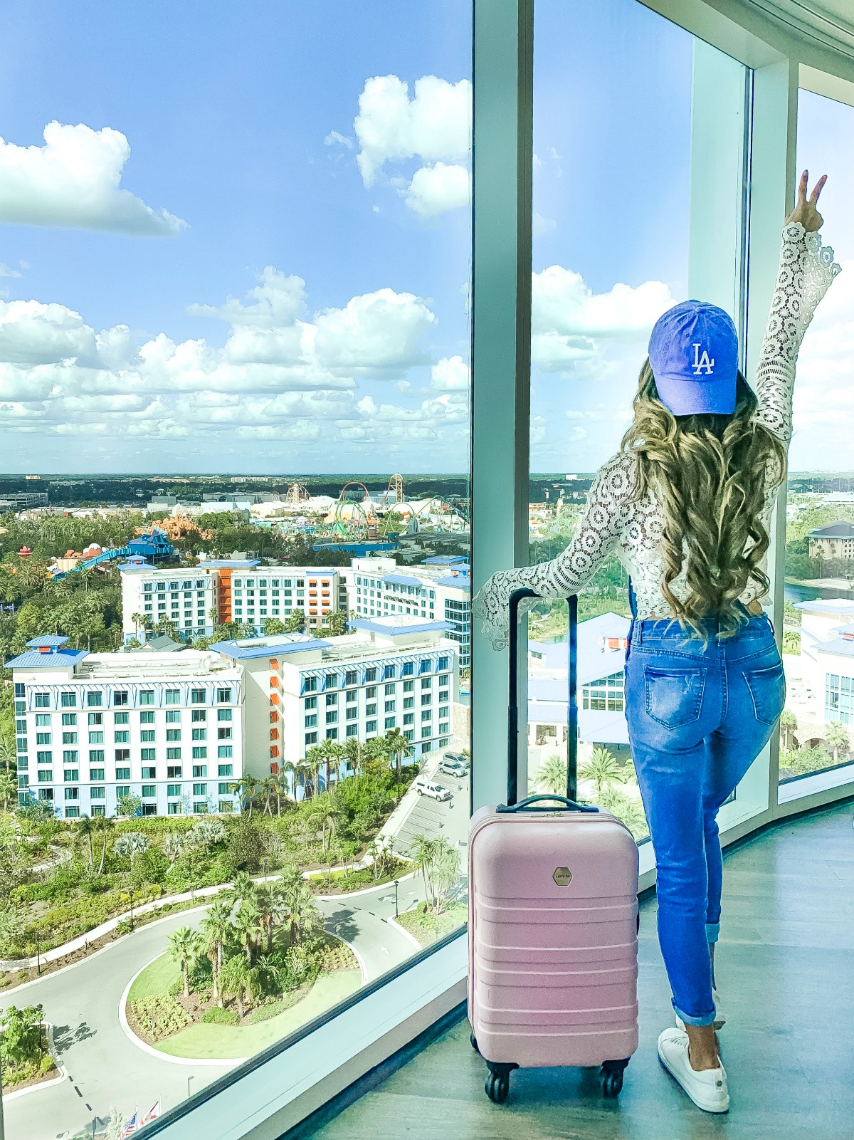 Eleana at Universal's Aventura Hotel