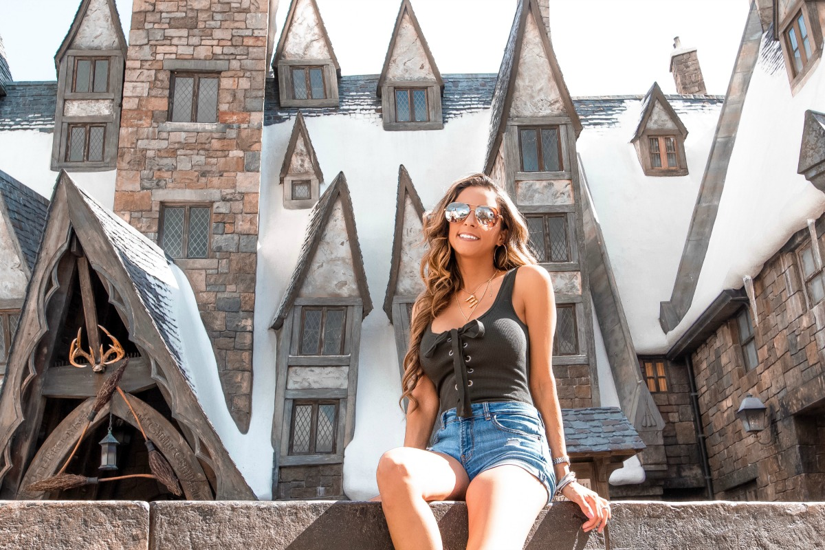Visiting The Wizarding World of Harry Potter at Universal Orlando with Eleana