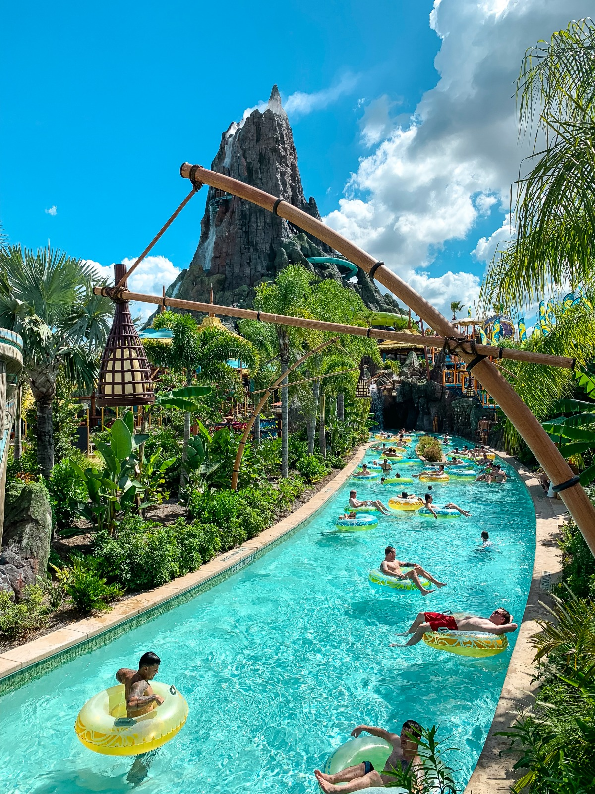 Lazy River rides with Eleana at Universal's Volcano Bay